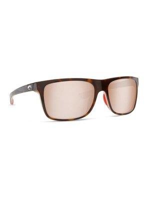 Costa Costa Remora Sunglasses Tortoise/Hibiscus/Hibiscus Crystal Silver Mirror 580P