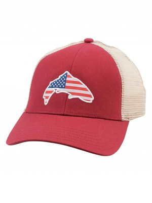 Simms Simms USA Patch Trucker