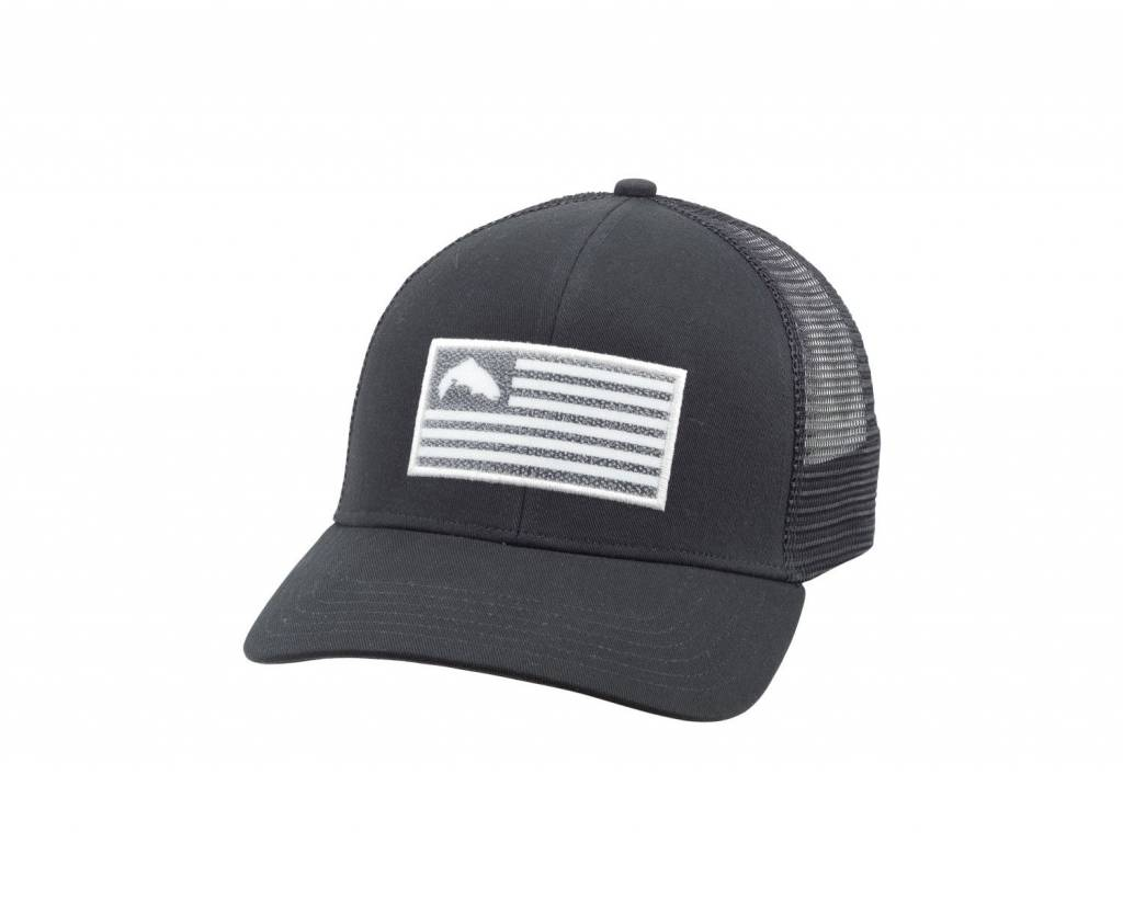 dffb9636a Trucker Cap Grey Black