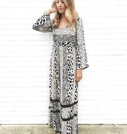See Spots Maxi Dress