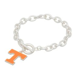 Matte Silver TN Toggle Bracelet