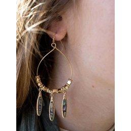 """2 1/2"""" Dangle Earring"""