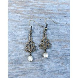 "1.25"" Enlightenment Filigree Earring"
