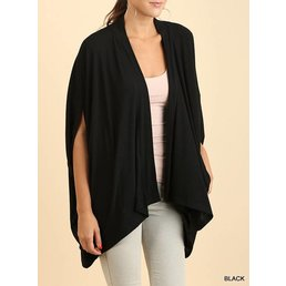Dolman Sleeve Cardigan W/ Pockets