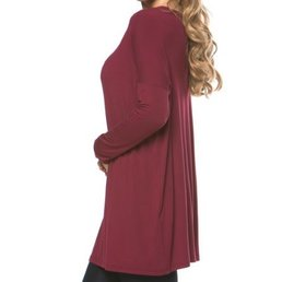 Long Sleeve Loose Fit Bamboo Pico