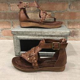 Ankle Strap Sandals W/ Braiding Details