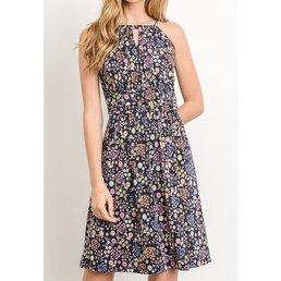 Halter Flower Dress