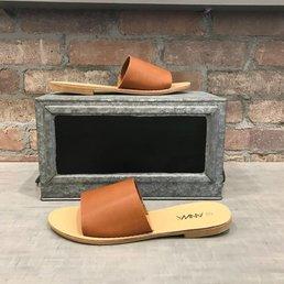 Solid Strap Slide Sandal