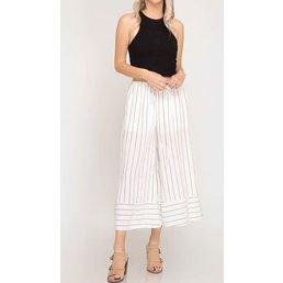 Stripe Cullotes