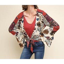 Cropped Kimono