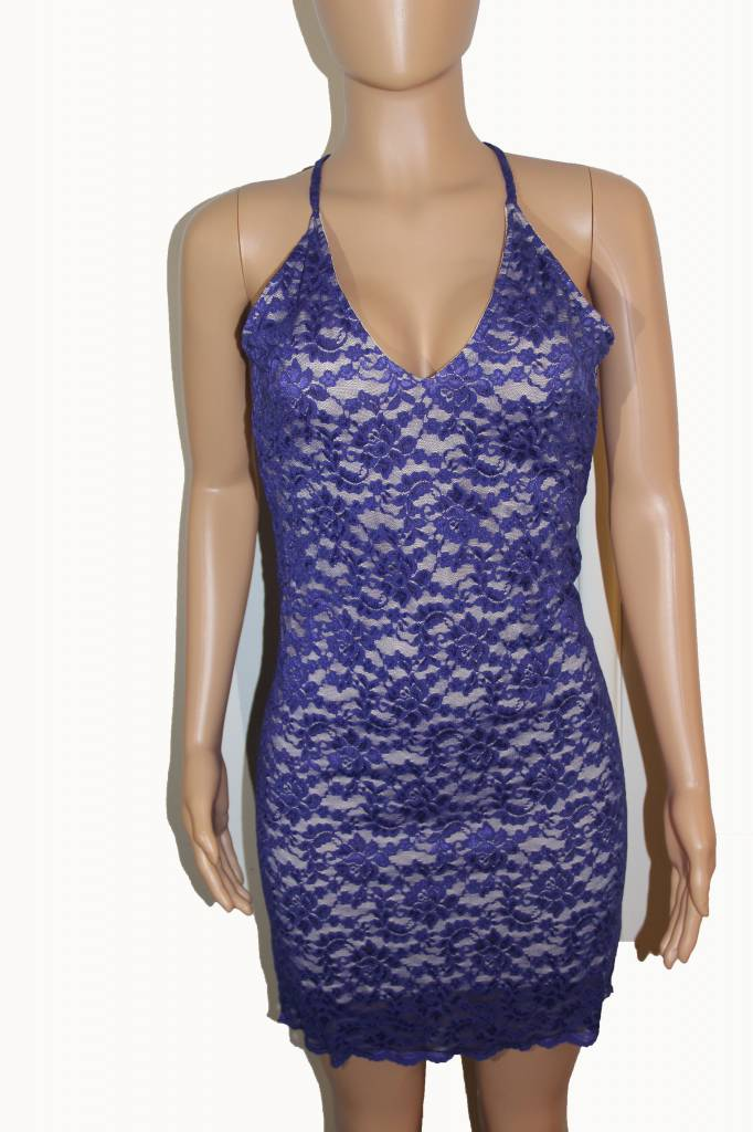 Spy Zone Exchange Purple Lace Dress