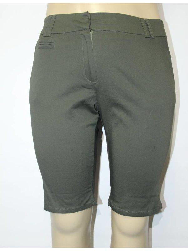 Capri Olive Shorts