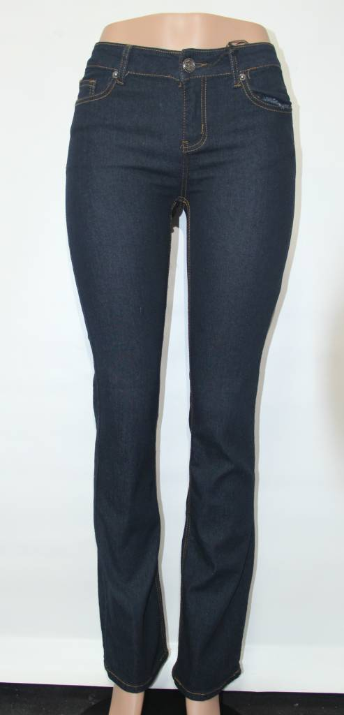 NAVY BOOTCUT JEANS