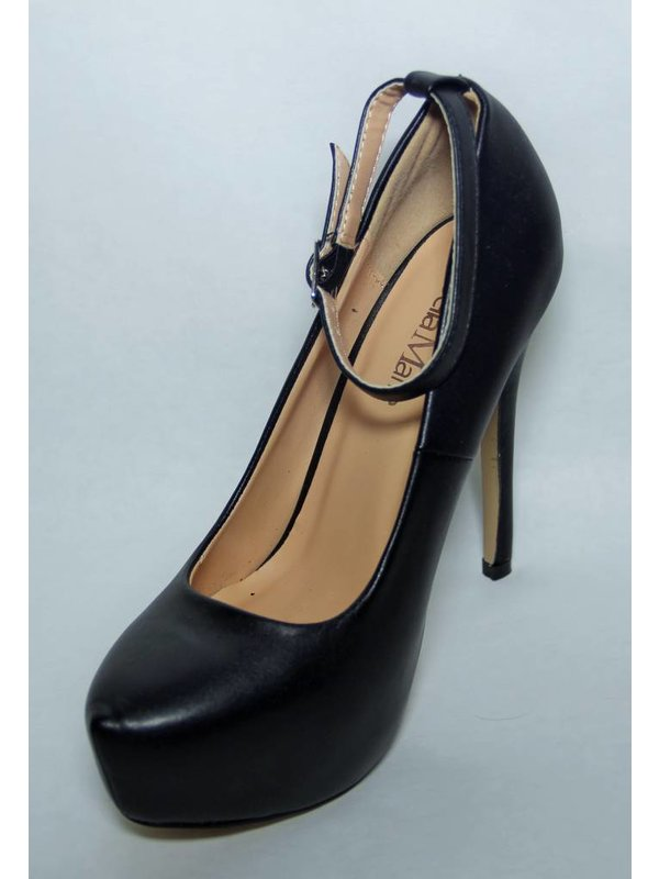 Bella Marie Helena-52 Ladies Black Pump
