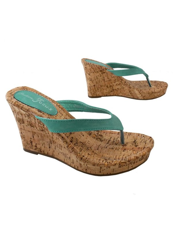 Alicia Mint Wedges S 5.5