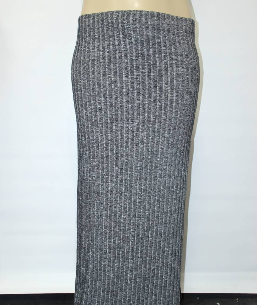 ambiance plus size grey knit maxi skirt my sweet