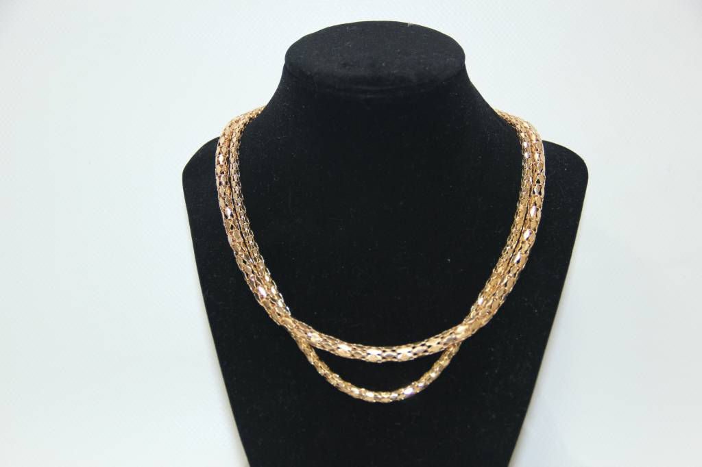 Double Band Necklace
