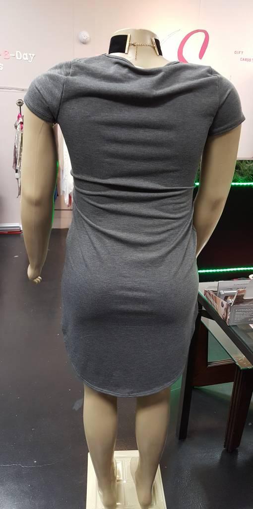 LIBIAN Gray Dress