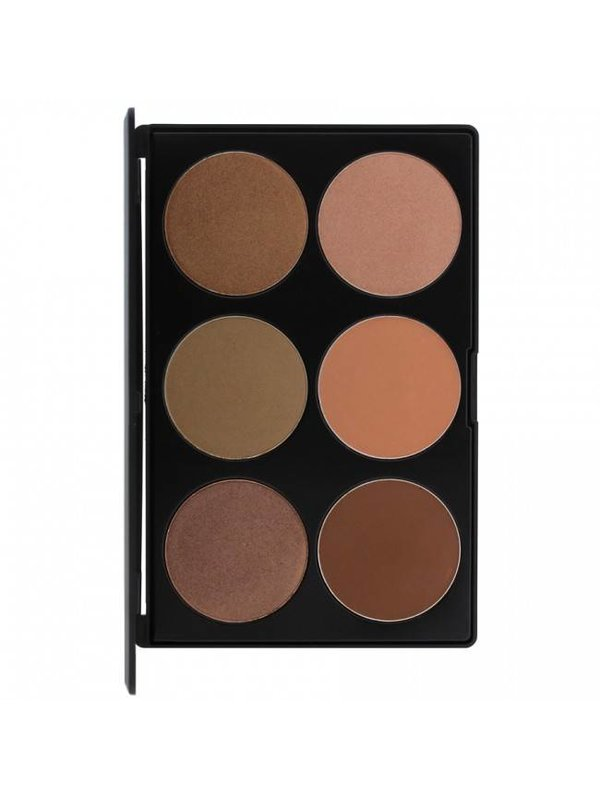 Kara Kara 6 Color Glow Dust Palette HL07