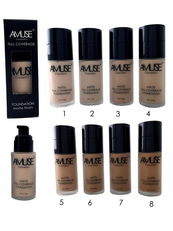 Amuse Matte Full Coverage Foundation