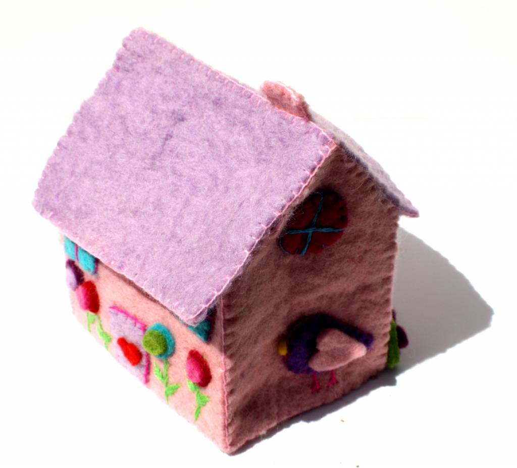 Felted Fairy Tiny Dream House