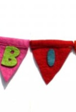 Felt Happy Birthday Banner 5.5ft