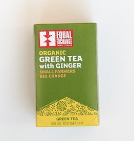 Oraganic Green Tea with Ginger