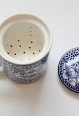Floral Tea Infuser Mug