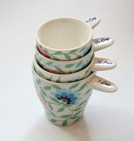 Craft Link *Bat Trang Floral measuring cups