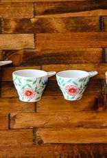 Craft Link Bat Trang Floral measuring cups