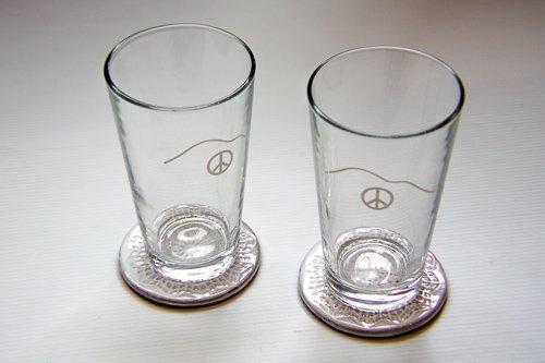 Peace Glass, Pint