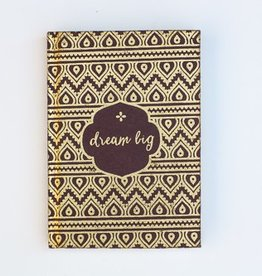 Dream Big Metallic Journal