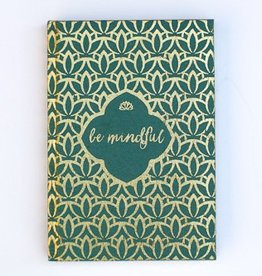 Be Mindful Metallic Journal