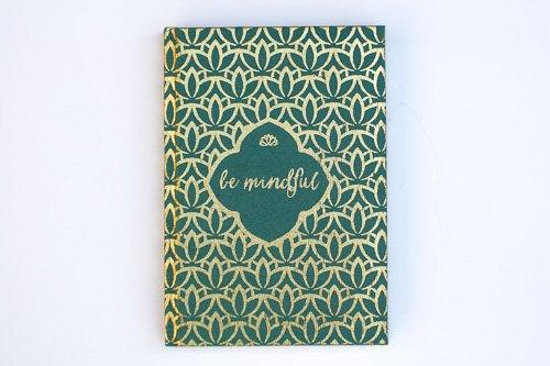*Be Mindful Metallic Journal