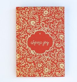 Choose Joy Metallic Journal