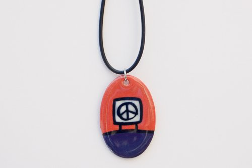 Missoula Peace Sign Necklace