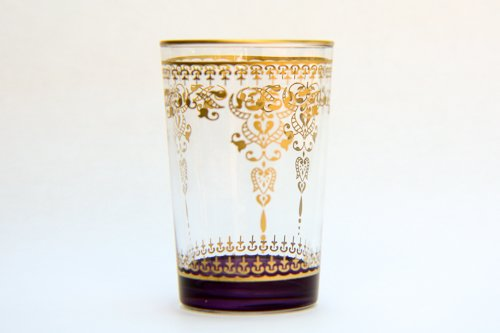 Color Kissed Morjana Tea Glass