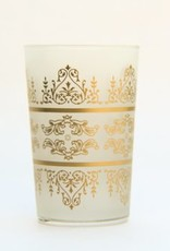 Frosted Tunis Tea Glass