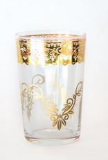 Gold Fez Tea Glass