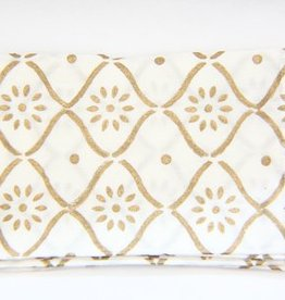 White Gold Bloom Napkin