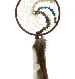 "4"" Healing Stones Dream Catcher - Mother Earth"