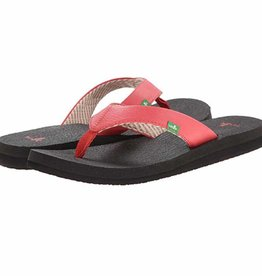 Sanuk Ladie's Yoga Mat Sandals - Watermelon
