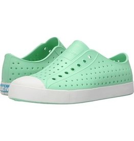 Native Shoes Jefferson Adult - Moola Green/Shell White