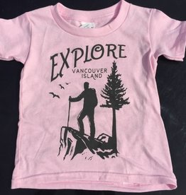 Beyond The Usual Explore Tees Toddler - Pink