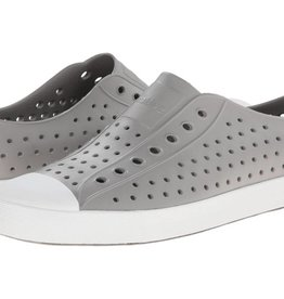 Native Shoes Jefferson Adult - Pigeon Grey/Shell White