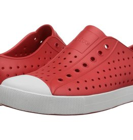 Native Shoes Jefferson Adult - Torch Red/Shell White