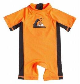 Quiksilver Quiksilver Infant 1 piece Rash guard Orange