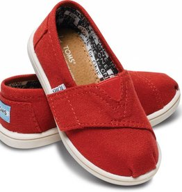 Toms Toddler Tiny Toms Classics - Red