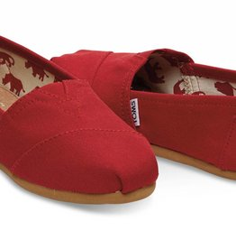 Toms Toms Classic Red Women's