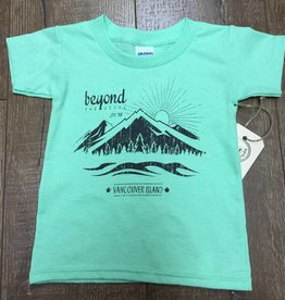 Beyond The Usual BTU Toddler Tees - Mountain - Mint